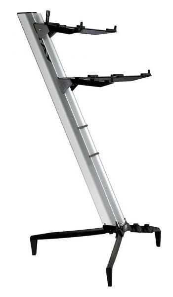 Keyboard Stand Tower Silver Stay