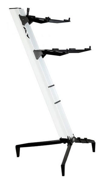 Keyboard Stand Tower White Stay