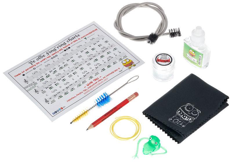 Monster Oil French Horn Care/Cleaning Kit