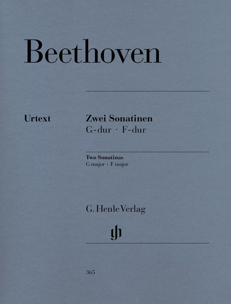 Henle Verlag Beethoven 2 Klaviersonatinen