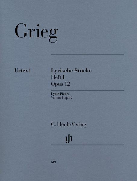Henle Verlag Grieg Lyrische Stücke I, op.12