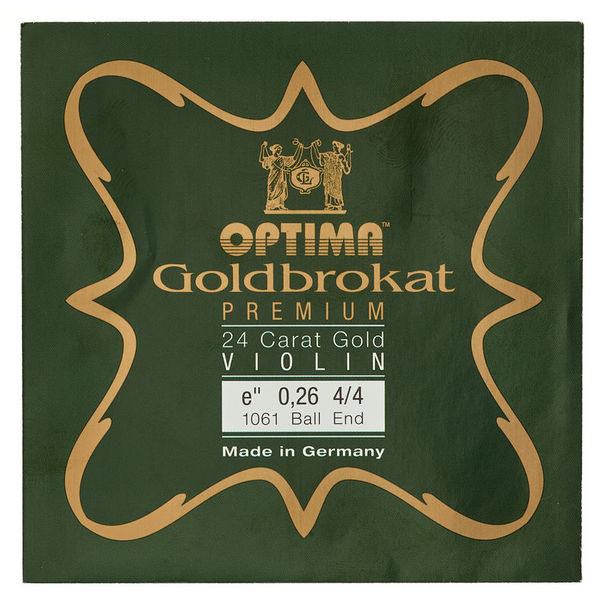 "Optima Goldbrokat 24K Gold e"" 0.26 BE"