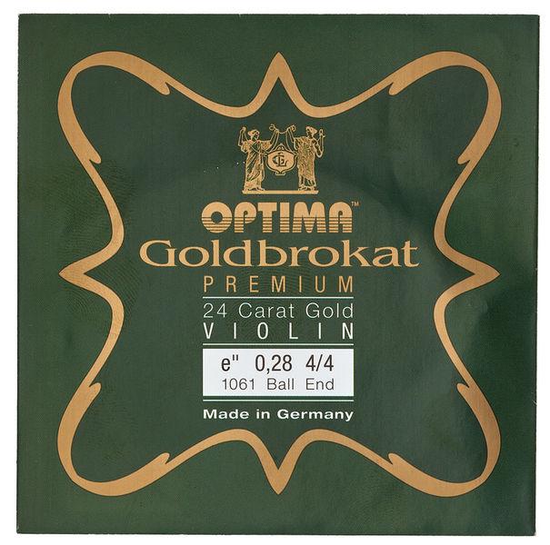 "Optima Goldbrokat 24K Gold e"" 0.28 BE"