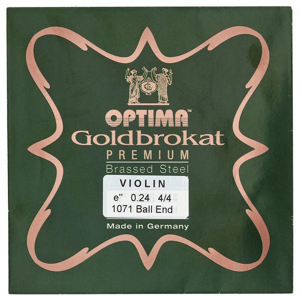 "Optima Goldbrokat Brassed e"" 0.24 BE"