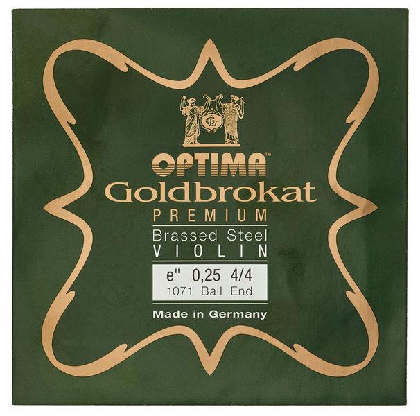 "Optima Goldbrokat Brassed e"" 0.25 BE"