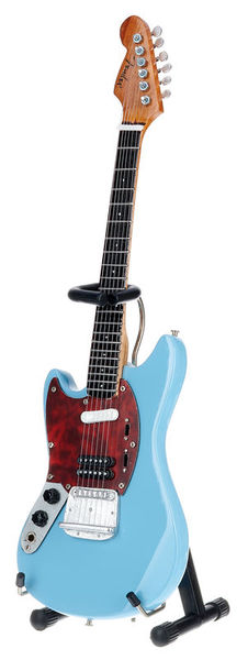 Axe Heaven Fender Mustang Solid Blue