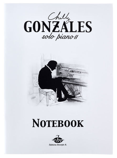 Editions Bourges Chilly Gonzales NoteBook Vol.2