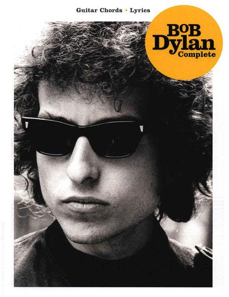 Bob Dylan Complete Guitar Hal Leonard
