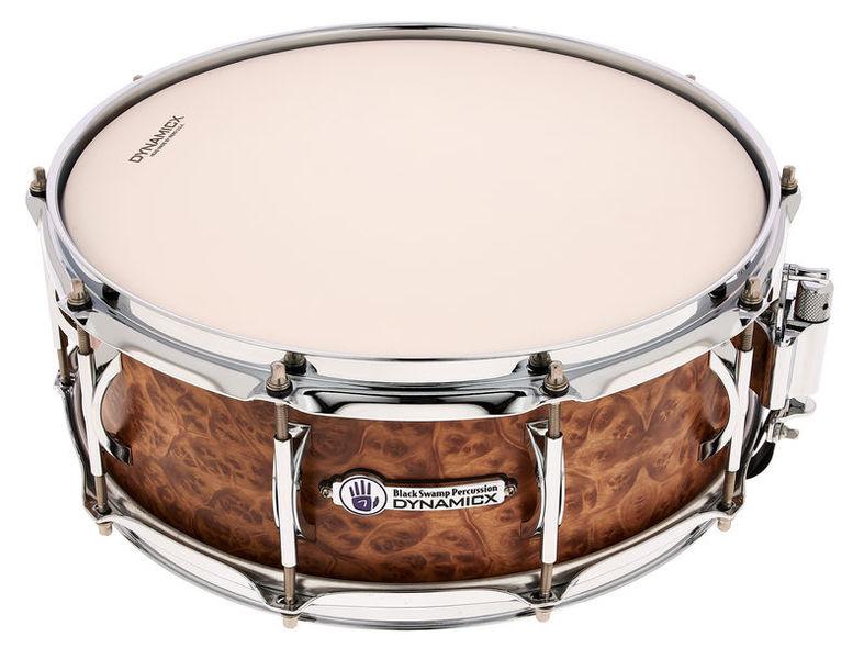 Black Swamp Percussion Dynamicx Snare Drum DXBB5514MW
