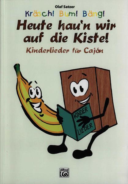 Alfred Music Publishing Kräsch! Bum! Bäng!Kinderlieder