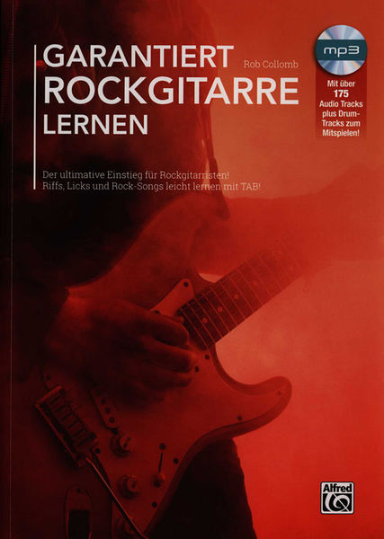 Alfred Music Publishing Garantiert Rockgitarre Lernen