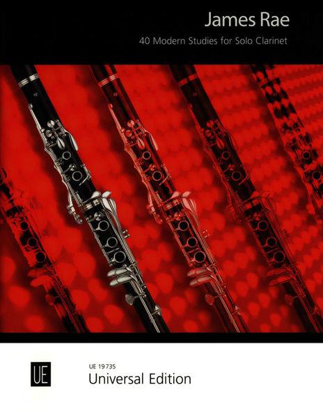 James Rae clarinet 40 MODERN STUDIES ue