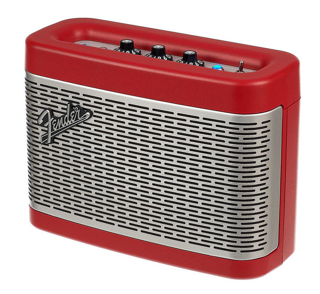Newport RED Bluetooth Speaker Fender