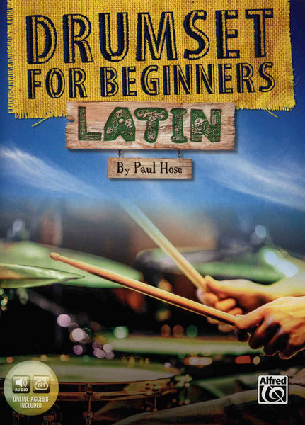 Alfred Music Publishing Drumset For Beginners Latin