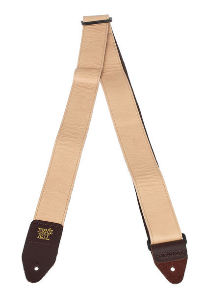 Ernie Ball E-Guitar Strap Leather BR
