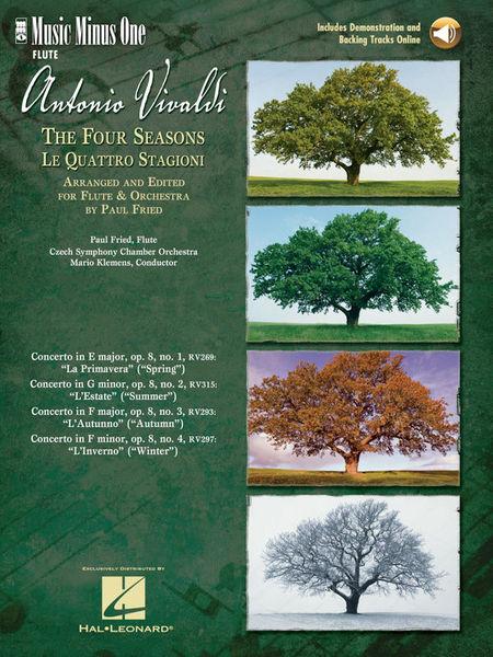Vivaldi Vier Jahreszeiten FL Music Minus One