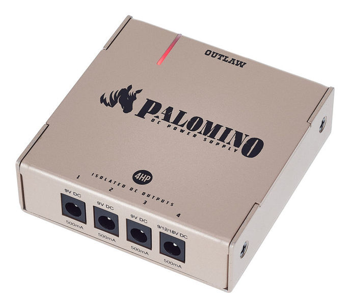 Outlaw Effects Palomino 4HP Power Supply