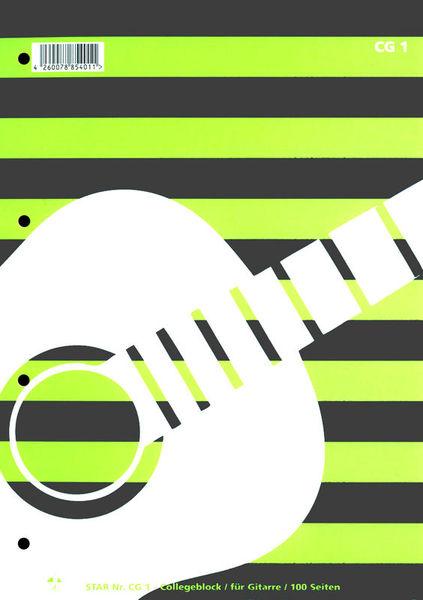 Star Collegeblock Gitarre CG 1