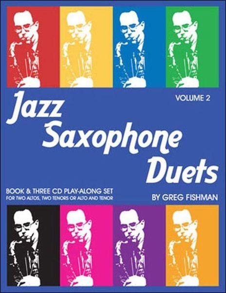 Greg Fishman Jazz Studios Jazz Saxophone Duets Vol.2