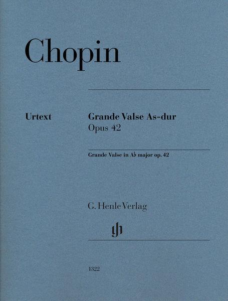 Henle Verlag Chopin Grande Valse As-Dur