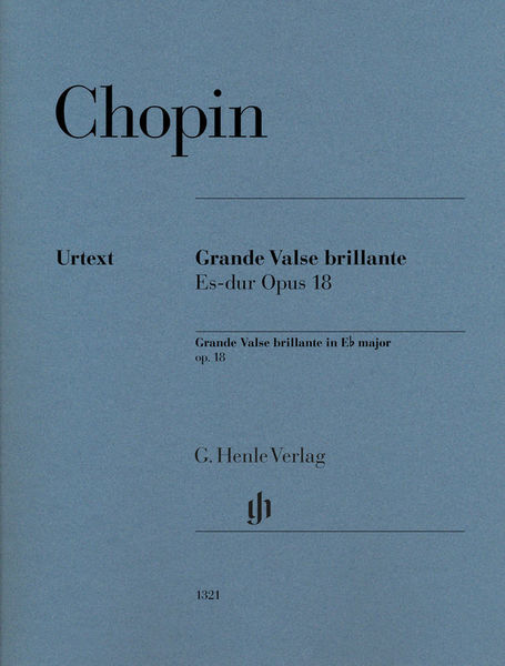 Henle Verlag Chopin Grande Valse brillante