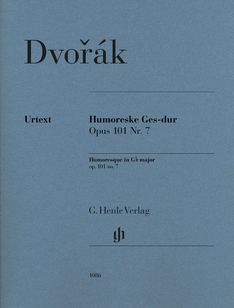 Henle Verlag Dvorák Humoreske Ges-dur