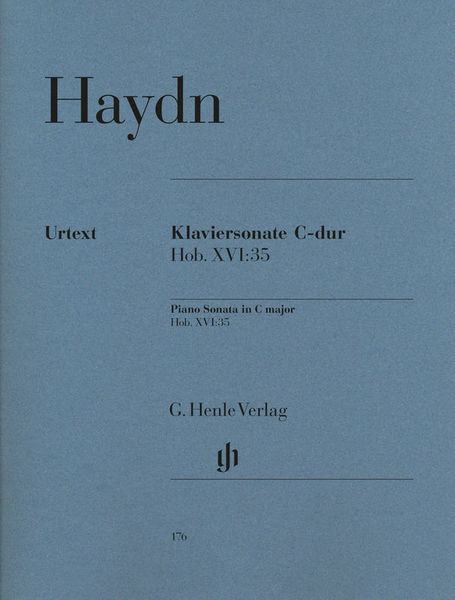 Henle Verlag Haydn Klaviersonate C-Dur