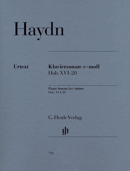 Henle Verlag Haydn Klaviersonate c-moll