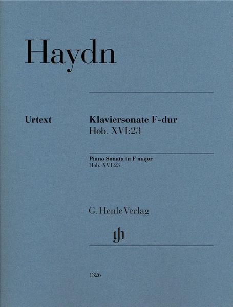 Henle Verlag Haydn Klaviersonate F-Dur