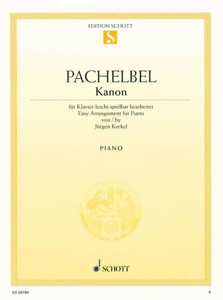 Schott Pachelbel Kanon