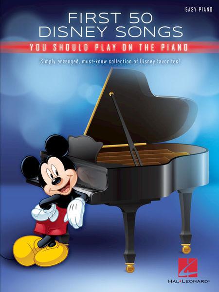 Hal Leonard First 50 Disney Songs Piano