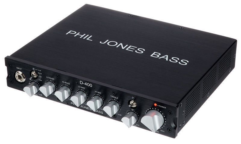 Phil Jones Bass Amp Head D-400