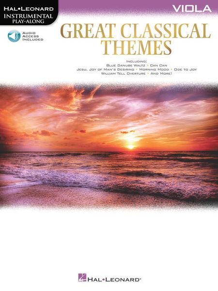 Hal Leonard Great Classical Themes Viola