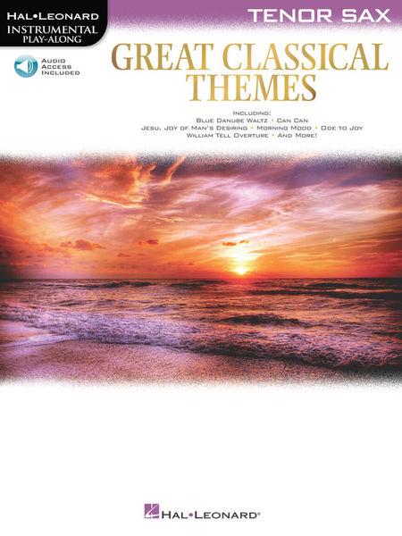 Hal Leonard Great Classical Themes T-Sax