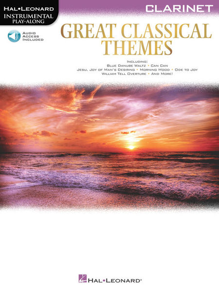 Hal Leonard Great Classical Themes Clarine