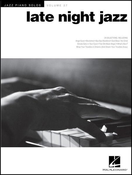Hal Leonard Jazz Piano Late Night Jazz