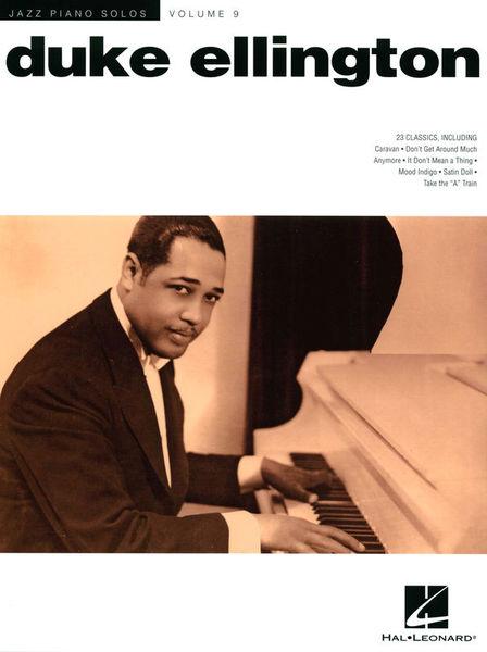 Hal Leonard Jazz Piano Solo Duke Ellington