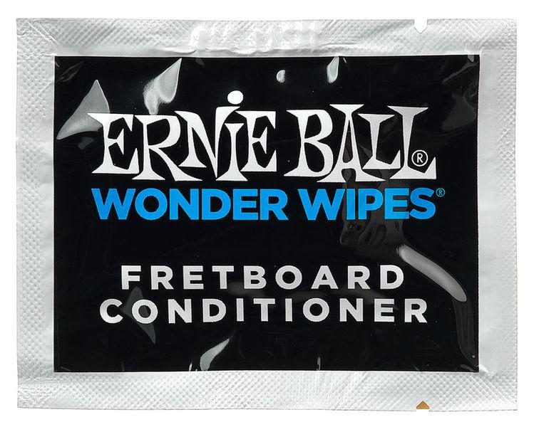 Ernie Ball Wonder Wipes Fretboard Cond.