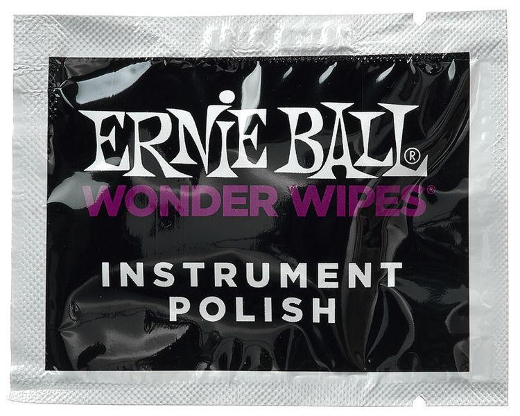 Ernie Ball Wonder Wipes Instrument Polish