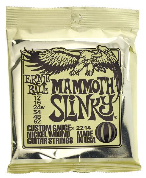 Ernie Ball 2214 Mammoth Slinky .012-.062