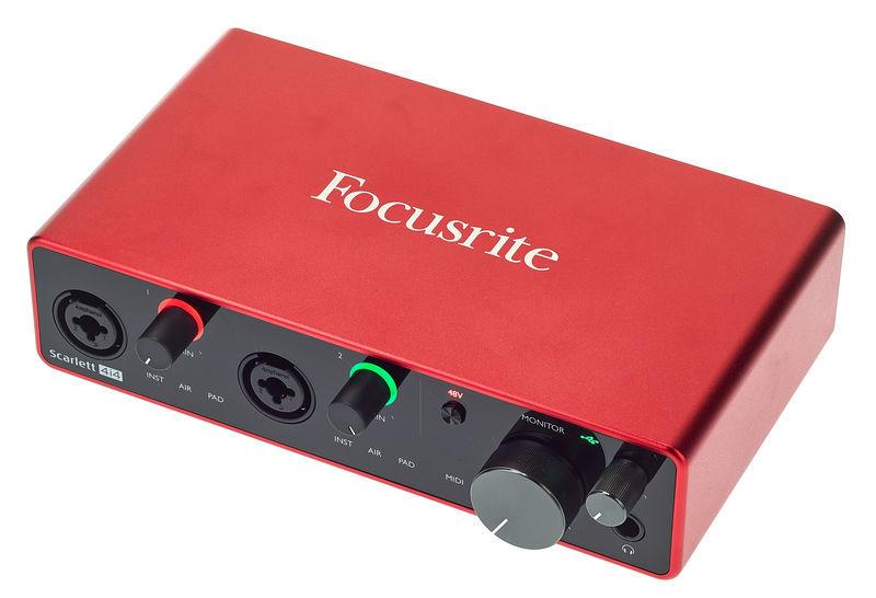 Scarlett 4i4 3rd Gen Focusrite