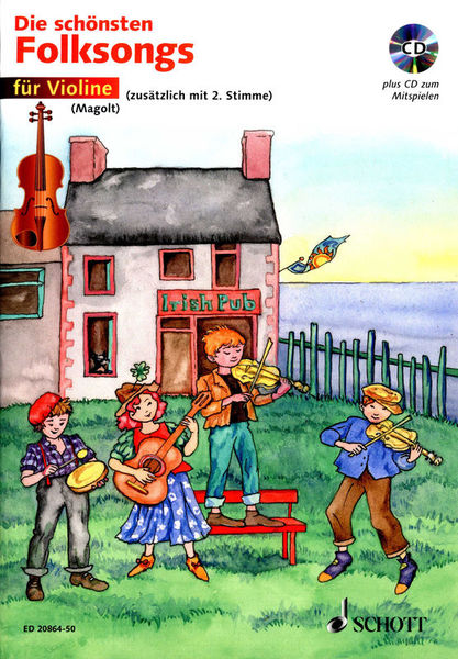 Schott Die schönsten Folksongs Violin