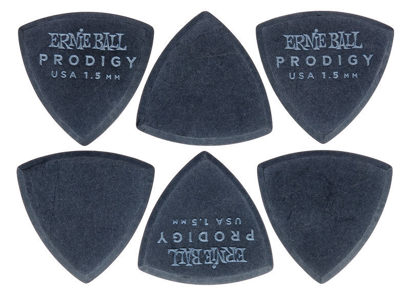 Ernie Ball Prodigy Picks 1,5 mm BK