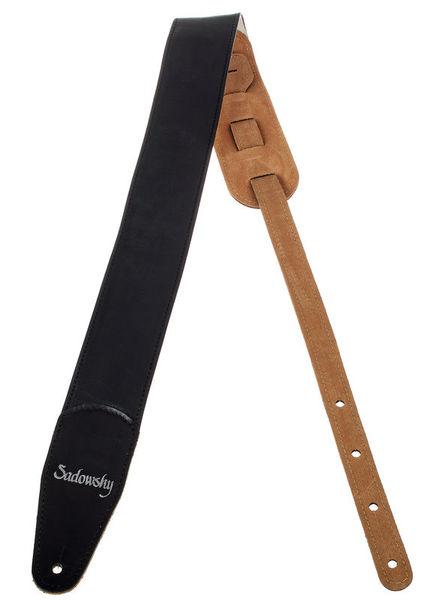 Sadowsky Bass Leather Strap Black