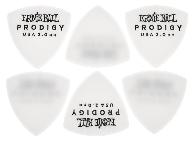 Ernie Ball Prodigy Picks 2,0 mm White