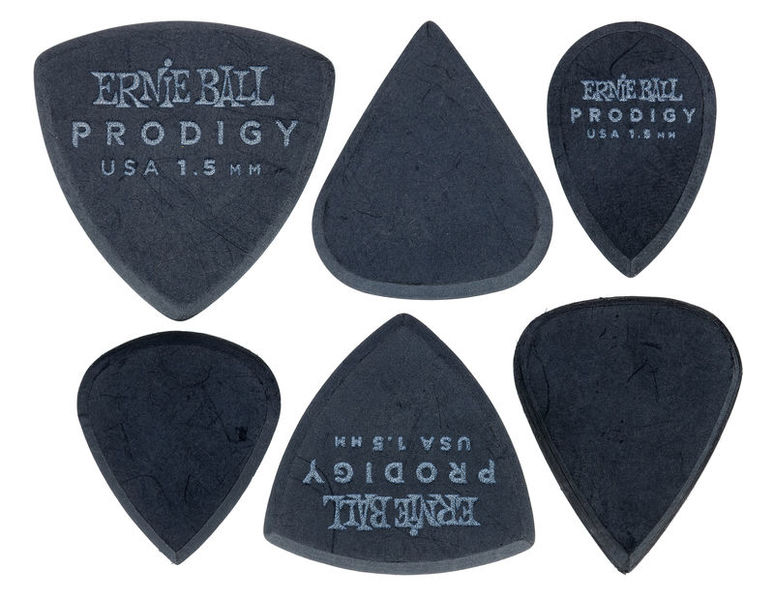 Ernie Ball Prodigy Picks 1.5 mm Black