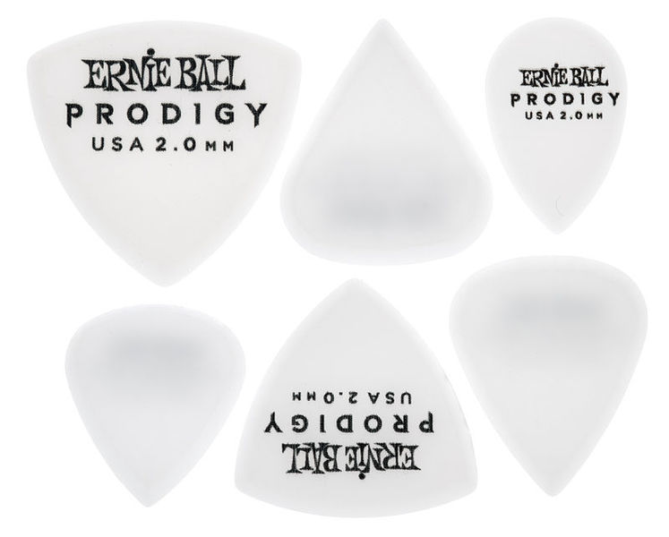 Ernie Ball Prodigy Picks 2.0 White
