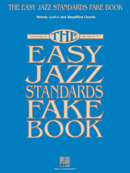 Hal Leonard Easy Jazz Standards Fake Book