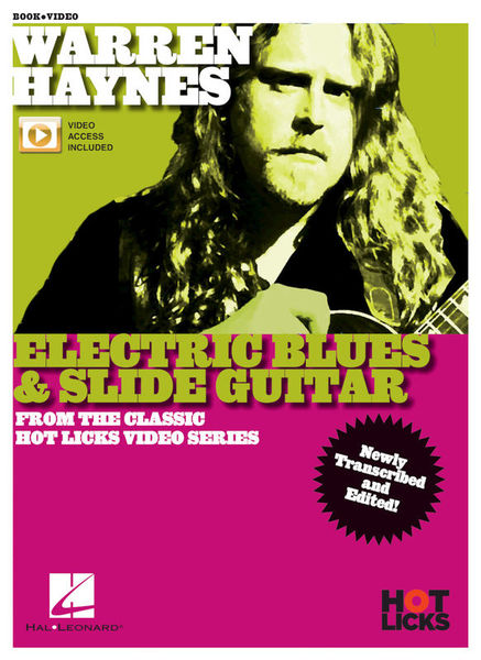 Warren Haynes Electric Blues Hot Licks