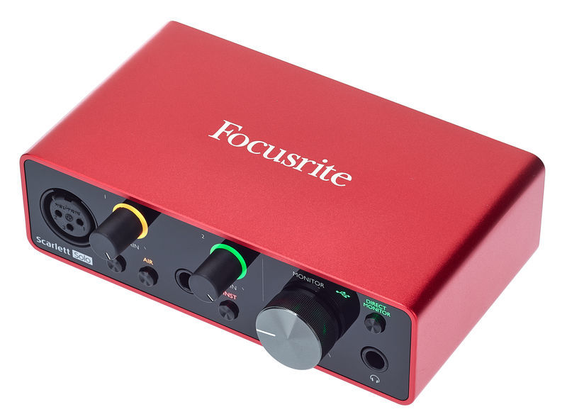 Focusrite Scarlett Solo 3rd Gen – Thomann UK
